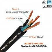 H07RN-F rubber cables manufacture