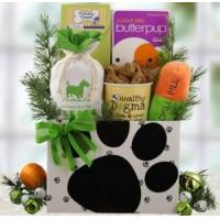 Buy cheap Holiday Ruffs Dog Gift Basket from wholesalers