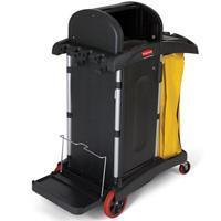 Buy cheap Janitor Healthcare Cleaning Carts-Black[9T75BLA] from wholesalers