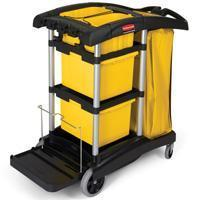 Buy cheap Janitor Microfiber Cleaning Cart[9T73BLA] from wholesalers