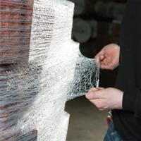 Buy cheap Pallet Net Elastic-stretch pallet net wrap 50% of elastic 100% HDPE from wholesalers
