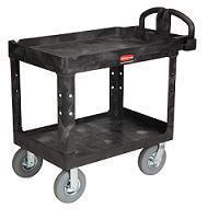 Buy cheap Cart-Heavy-Duty Service/Utility Cart w/Pneumatic Casters 25 x 45[4520-10BLA] from wholesalers