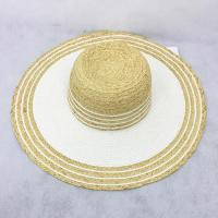 Buy cheap Straw Cowboy Hats for Floppy Straw Sun Hat or Raffia Straw Hat for Women from wholesalers