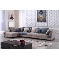 Buy cheap Arabic hot sale modern colourful wooden upholstery fabric sofa sets design couch for sale from wholesalers