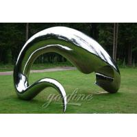 Buy cheap China Factory of Mirror Stainless Steel Sculpture product