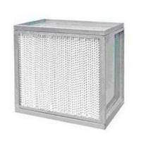 Buy cheap Air Filters GK-GW Heat Resistant HEPA Filter from wholesalers