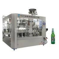 Beer filling and sealing machine