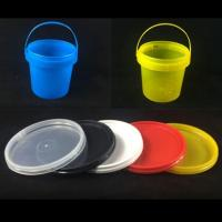 Buy cheap 1Liter Food Grade of PP Material Transparent Plastic Bucket with Lid from wholesalers