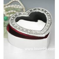 Buy cheap Wholesale Fashion Silver Jewelry Box, Sweet Heart Metal Jewelry Box from wholesalers
