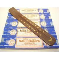 Buy cheap Nag Champa Stick Incense Five 15 gram boxes - Moon ash catcher from wholesalers
