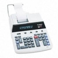 CP1200D Desktop Calculator, 12-Digit Fluorescent, Two-Color Printing, Black/Red