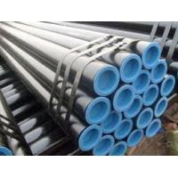 Buy cheap Scaffold used 3.5x48mm BS1387 ERW black carbon steel pipe from wholesalers