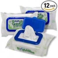 Buy cheap Boogie wipes, magic menthol (pack of 12) from wholesalers