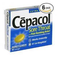 Buy cheap Cepacol instant relief sore throat lozenges, 18 ea from wholesalers