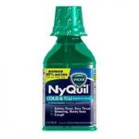 Buy cheap Vicks nyquil cold & flu liquid multi-symptom relief 12 oz (pack of 2) from wholesalers