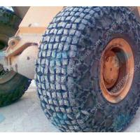 Steel mesh 26.5-25 tire protection chain/snow chains