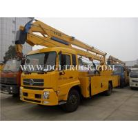 Buy cheap Dongfeng tianjin 22M 24M aerial basket truck for sale from wholesalers