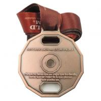 Buy cheap OEM Metal Bronze Medal Medallion with Lanyard product
