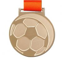 Metal Football Medallion with Own Design