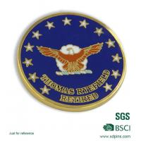 Buy cheap National Geospatial-intellicence Agency Hard Enamel Souvenir Coin from wholesalers