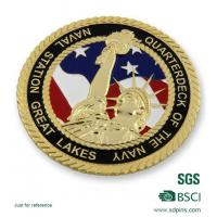 Buy cheap 3D Statue Of Liberty Military Souvenir Coin from wholesalers