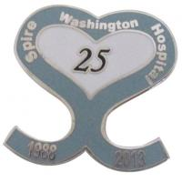 Buy cheap Fashion Heart Shape Lapel Pins from wholesalers