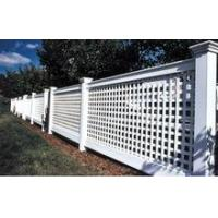 Buy cheap PVC Lattice Fence/Hot-selling vinyl lattice from wholesalers