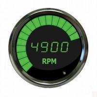 Buy cheap Digital Tachometer with LED Sweep Green / Chrome Bezel MS9001G from wholesalers