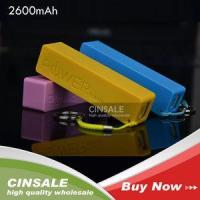 Buy cheap High Quality 2600mAh Portable Battery Charger Perfume Powerbank for Cell Phone with Cable from wholesalers