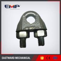Buy cheap GALV. DIN741 Malleable Steel Wire Rope Clips from wholesalers