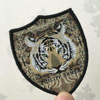 Buy cheap Clothing Woven Badge Tiger Patch from wholesalers