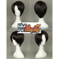Buy cheap Shingeki no Kyojin (Attack on Titan) Levi Black Cosplay Wig(WEC10977) from wholesalers