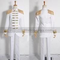 Buy cheap Attack on Titan (Shingeki no Kyojin) Rivaille White Military Army Uniform Cosplay Costume(WESNK3900) from wholesalers