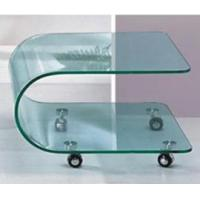 Buy cheap Tempered glass/toughened glass Bending tempered glass table. from wholesalers