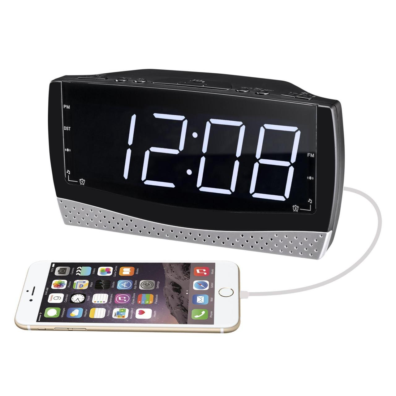 Buy cheap Code:PCR-979 FM Alarm Clock Radio with USB Charging from wholesalers