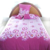 Buy cheap textile Pink comforter from wholesalers