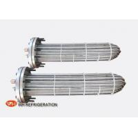 Buy cheap Flooded Shell And Tube Evaporator Corrosion Resistant Titanium Tube Material from wholesalers