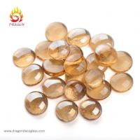 Buy cheap Champagne Luster Fire Glass Gems for Fire Place and Fire Pit from wholesalers