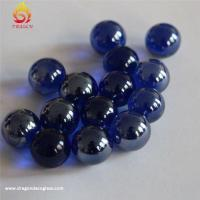 Buy cheap Colorful Decoration Custom Glass Marbles,round Solid Home Decor Hand Made Glass Balls from wholesalers