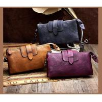 Buy cheap Leather&Canvas product Fashionable Genuine Leather Purse,Handlbag,Shoulder Bag For Woman from wholesalers