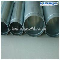 Buy cheap Victaulic Galvanizing Groove GI pipe ASTM A53 A795 BS1387 for fire fighting pipeline system from wholesalers