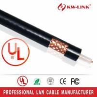 Buy cheap Coaxial Cable RG59 Bulk Coaxial Cable 64 Braiding White from wholesalers