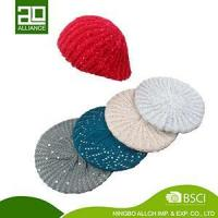 Buy cheap KNITTED CUTTING HAT BEANIE BERET WOMEN KNITTING BERET HAT-1 from wholesalers
