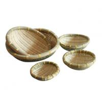 Buy cheap Bamboo Weaving Basket / Bamboo Wicker Baskets from wholesalers