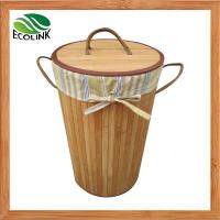 Buy cheap Bamboo Laundry Basket / Dirty Clothes Basket from wholesalers