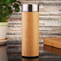 Buy cheap Stainless Steel Strainer Bamboo Travel Mug from wholesalers