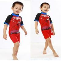 Buy cheap spiderman cute rash guard for kids from wholesalers