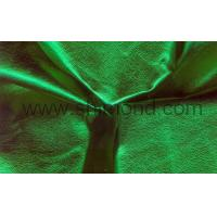 Buy cheap Mettalic Foil Leather Metallic Foil PU Leather for Apparel from wholesalers
