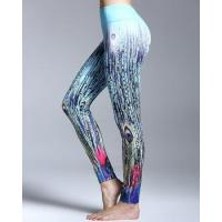 Buy cheap Custom New Printed Yoga Sprorts Gym Tights Fitness Leggings for Women from wholesalers