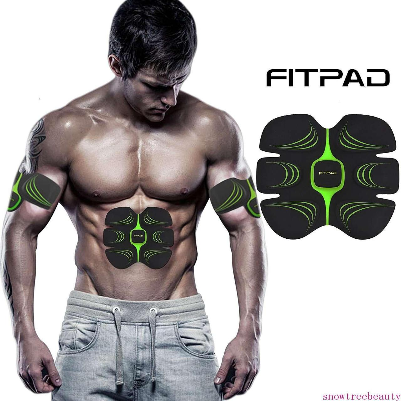 Buy cheap ABS Toner Body Muscle Trainer Lazy Man Electrical Muscle Stimulation(EMS) Exercise Equipment, Light from wholesalers